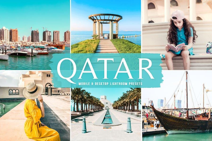 Qatar Mobile & Desktop Lightroom Presets