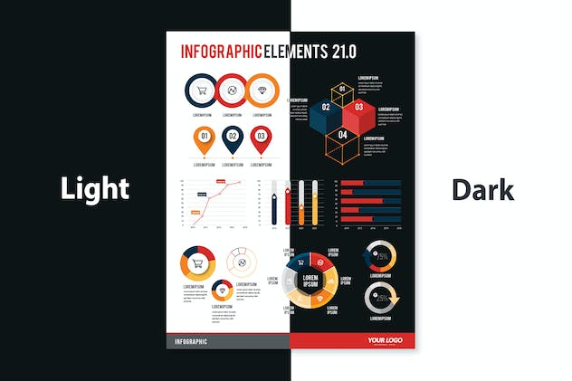 Infographic Examples for Designer V.26 - product preview 3