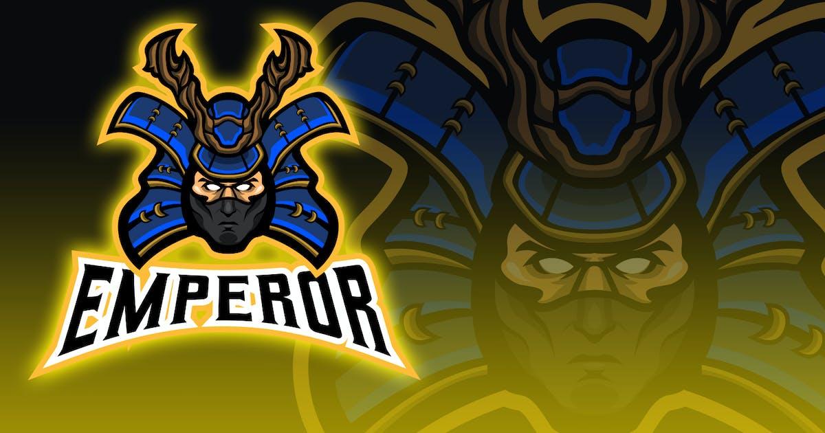 Download Samurai Head Esport Logo Design by unrealstock