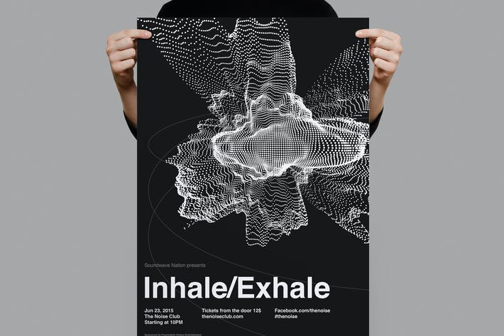 Thumbnail for InhaleExhale Flyer / Poster