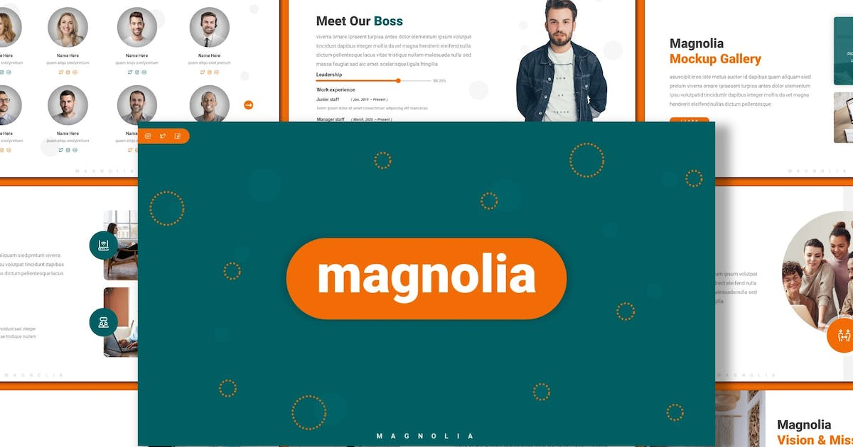 Download Magnolia - Creative Powerpoint Template by inspirasign