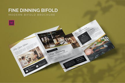 Fine Dinning - Bifold Brochure