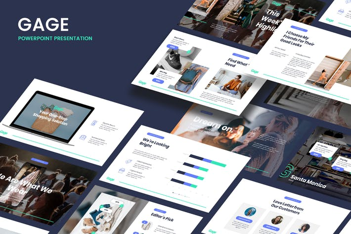 Gage - Modern Business Powerpoint Template