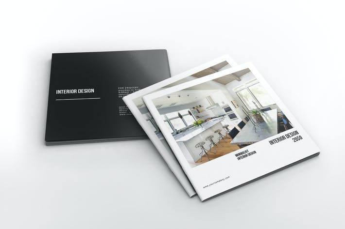 Thumbnail for Interior Design Square Brochure