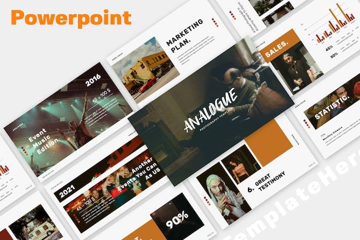 Аналоговый Creative Powerpoint