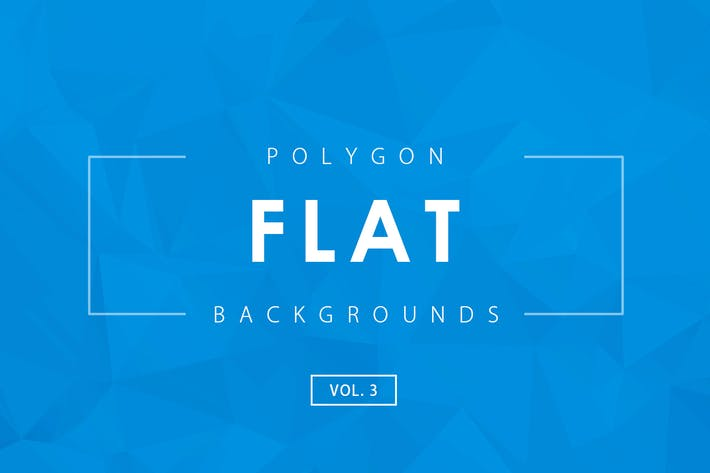 Thumbnail for Flat Polygon Backgrounds Vol.3