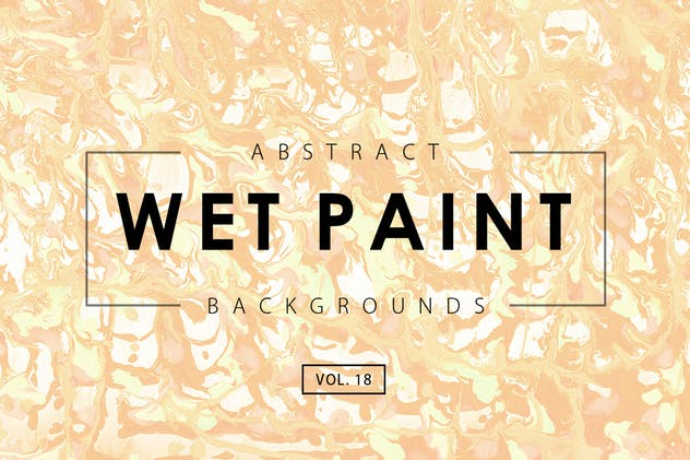 Wet Paint Backgrounds Vol. 18 - product preview 0