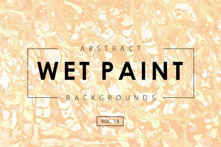 Thumbnail for Wet Paint Backgrounds Vol. 18