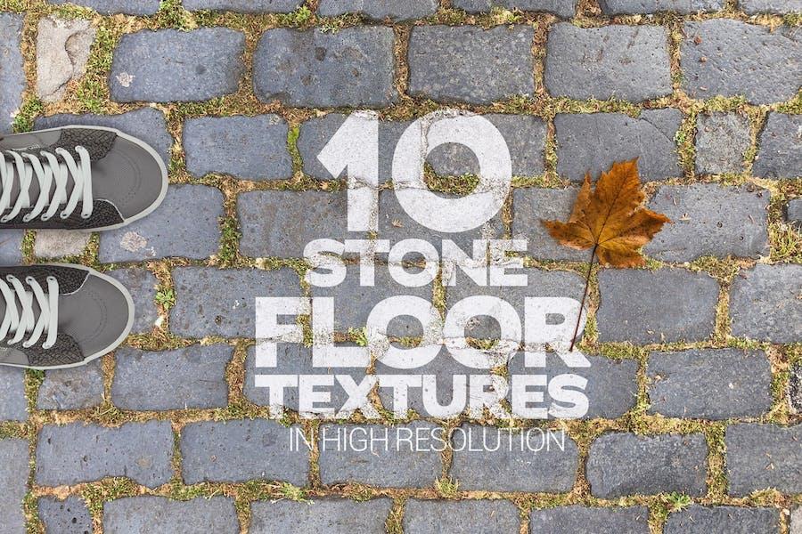 Steinbodentexturen 10 Stück