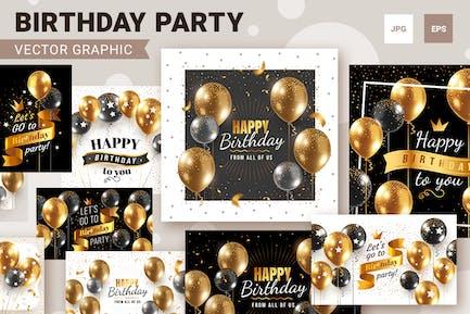 Fondos de feliz cumpleaños