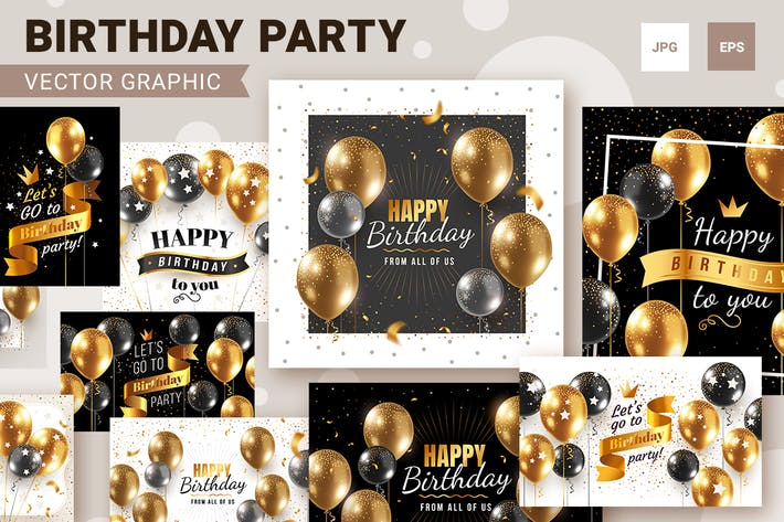 Thumbnail for Happy birthday backgrounds