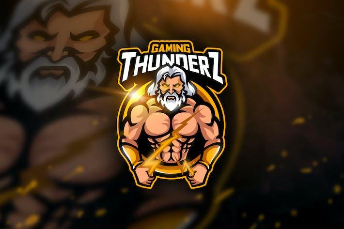 Thumbnail for Thunderz Gaming - Mascot & Esport Logo