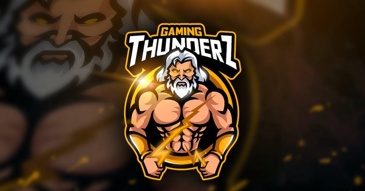 Download Thunderz Gaming - Mascot & Esport Logo by aqrstudio