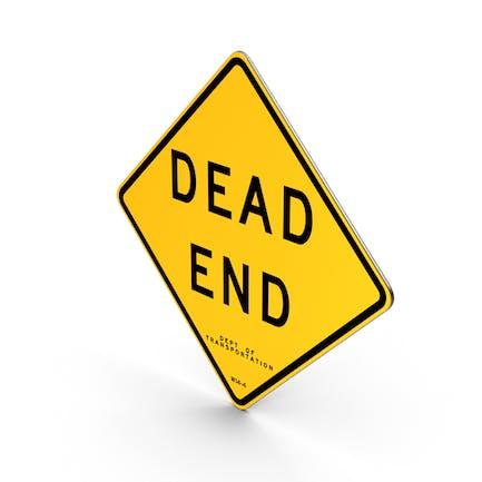 Dead End New Yorker Straßenschild