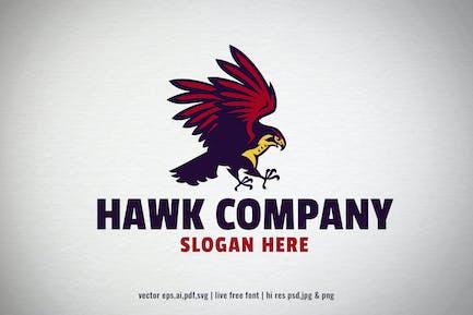 hawk bird logo