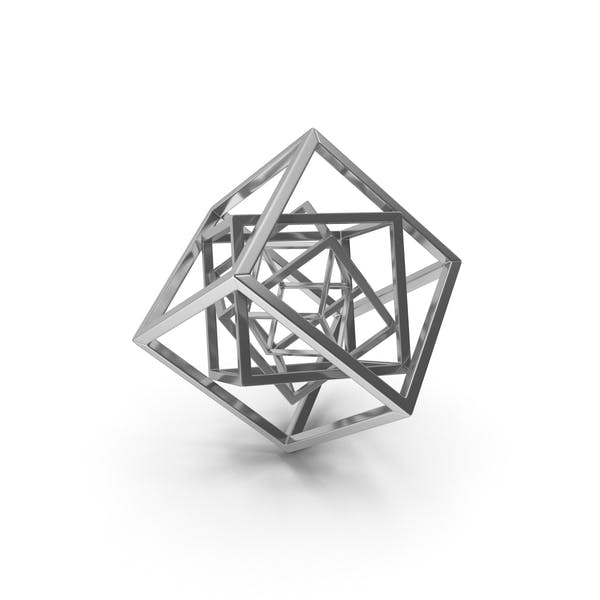 Cube in Cube Silver