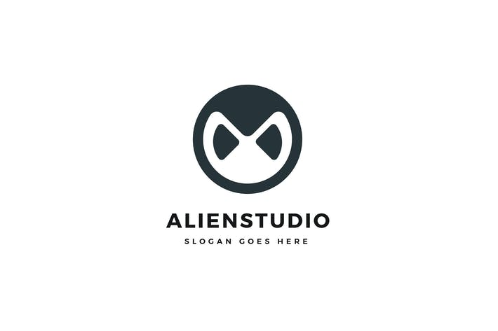 Thumbnail for Alien Studio Logo Template