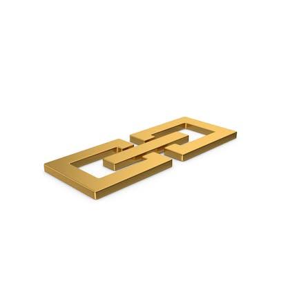 Goldsymbol Glieder/Kette