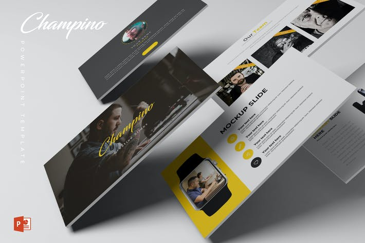 Thumbnail for Champino - Powerpoint Template