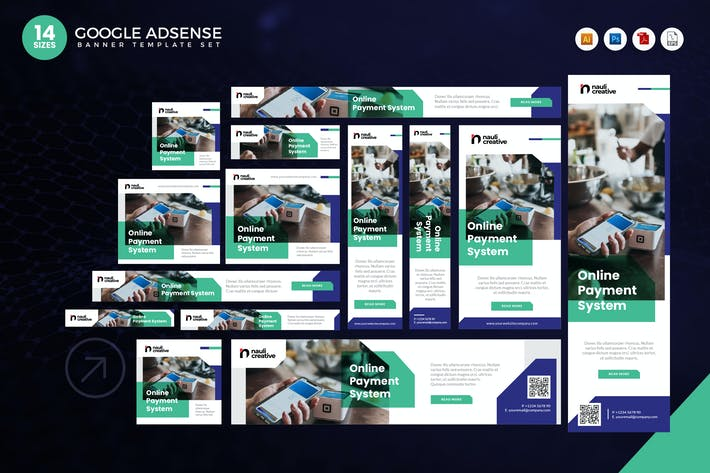 Thumbnail for 14 Online Payment System Google Adsense Banner