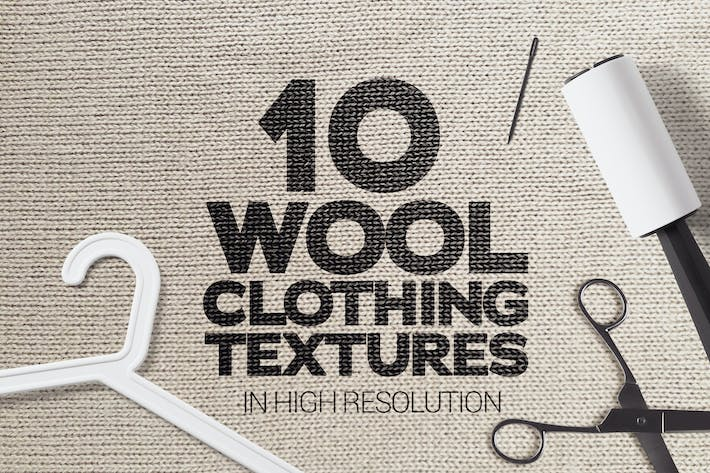 Thumbnail for Wool Clothing Textures x10