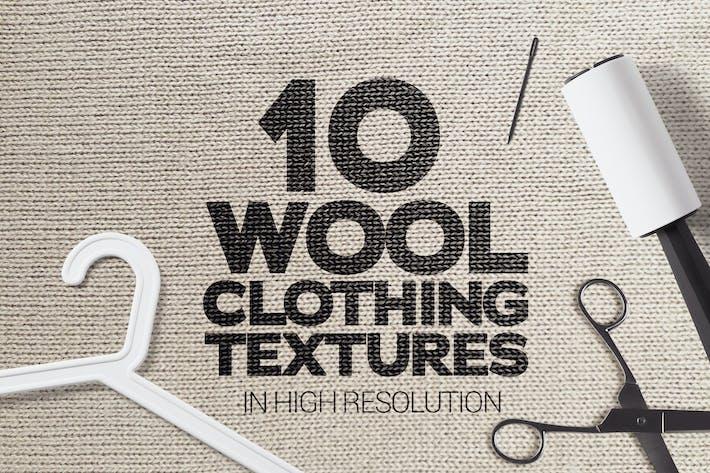 Thumbnail for Texturen aus Wolle, 10 Stück