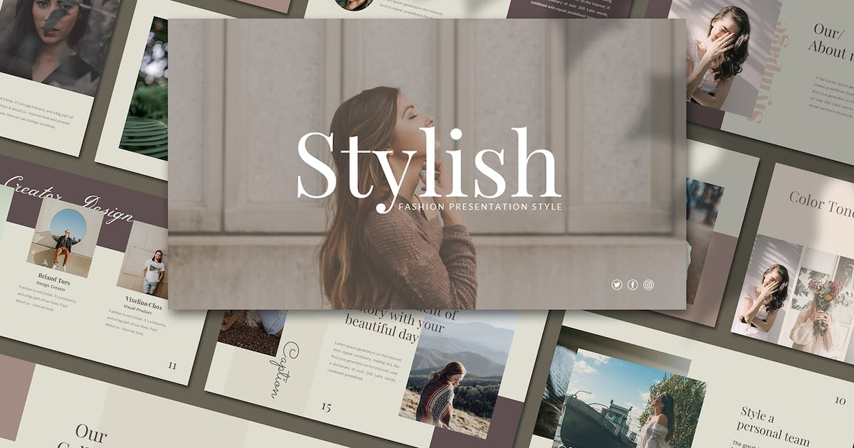 Download Stylish - Power Point Template by axelartstudio