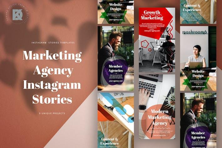 Thumbnail for Agency Marketing Instagram Stories