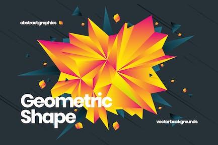 Geometrische Shape-Hintergründe