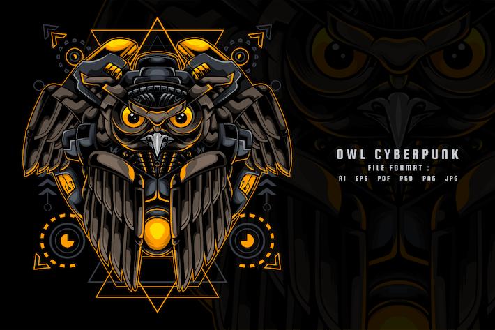 Owl Cyberpunk