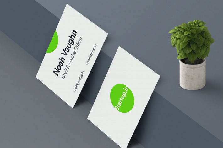 Thumbnail for Business Card Mockup Vol 04