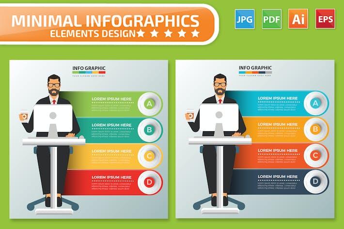 Thumbnail for Arbeitermann Infografiken Design