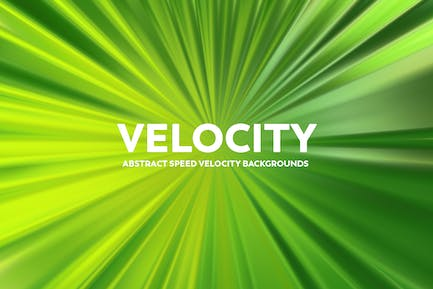 Abstract Speed Velocity Backgrounds  - Green Color