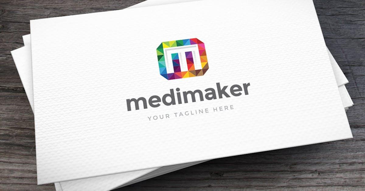 Download Mediamaker Letter M Logo Template by empativo