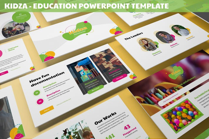 Thumbnail for Kidza - Education Powerpoint Template