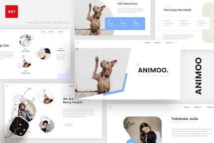 Animoo - Animal PowerPoint Template
