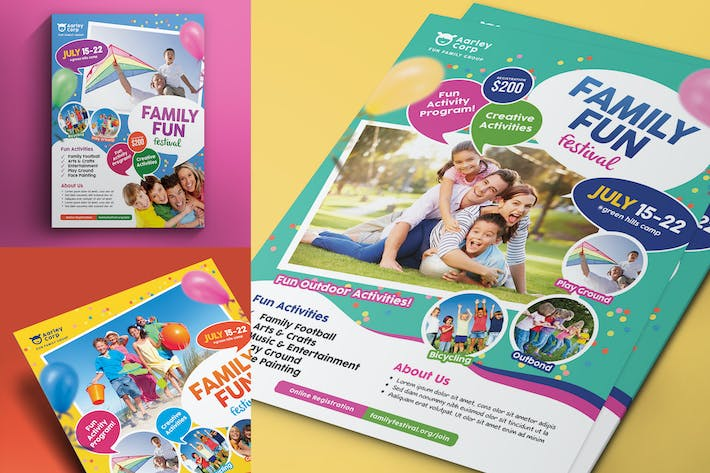 family day flyer by aarleykaiven on envato elements