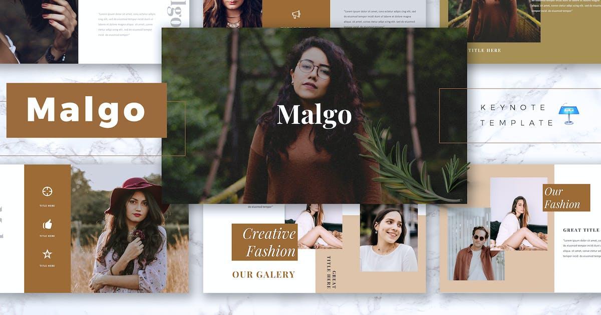 Download MALGO - Fashion Keynote Template by RahardiCreative