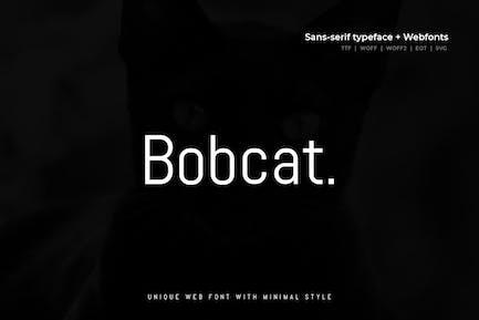 Bobcat - Moderno Typeface + WebFont