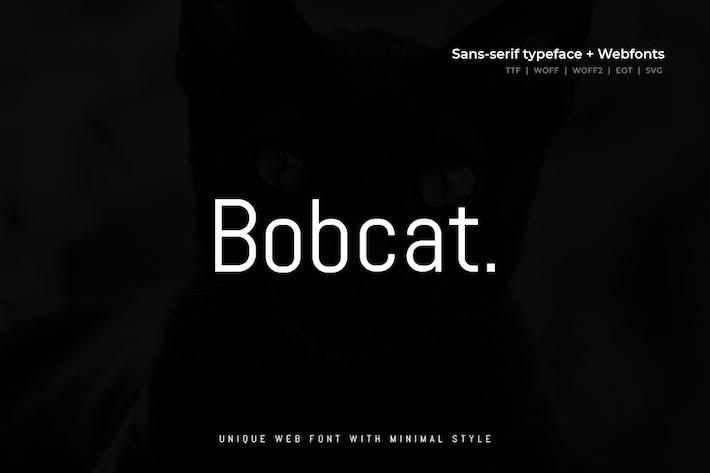 Thumbnail for Bobcat - Police Moderne + WebFont