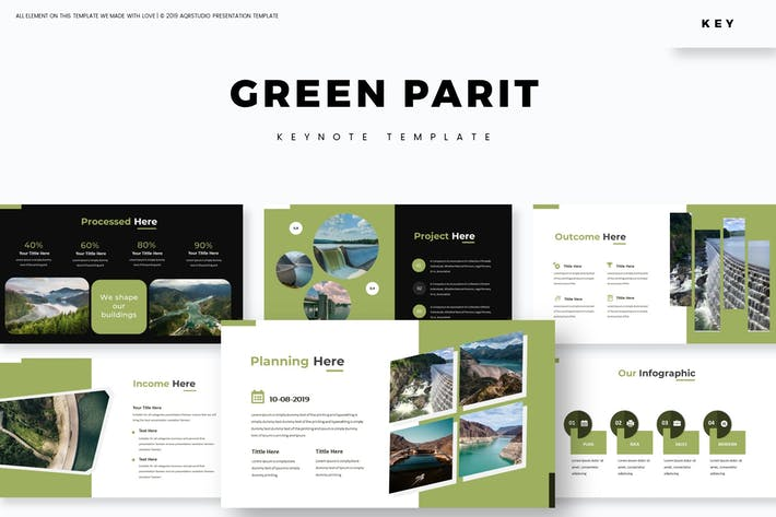 Thumbnail for Green Parit - Keynote Template