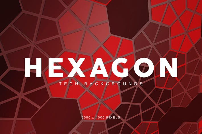 Thumbnail for Hexagon Tech Backgrounds 3