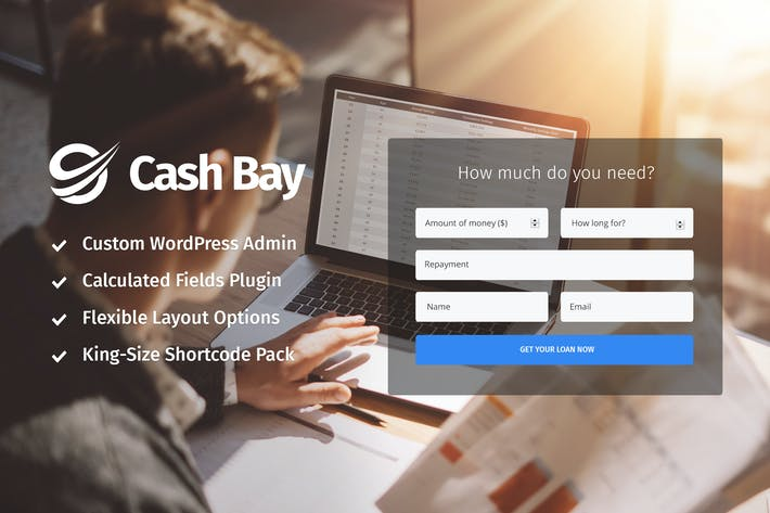 Thumbnail for Cash Bay - Loan & Credit Money WP Theme