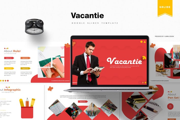 Thumbnail for Vacantie | Google Slides Template