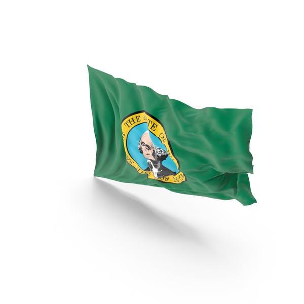 Флаг штата Вашингтон