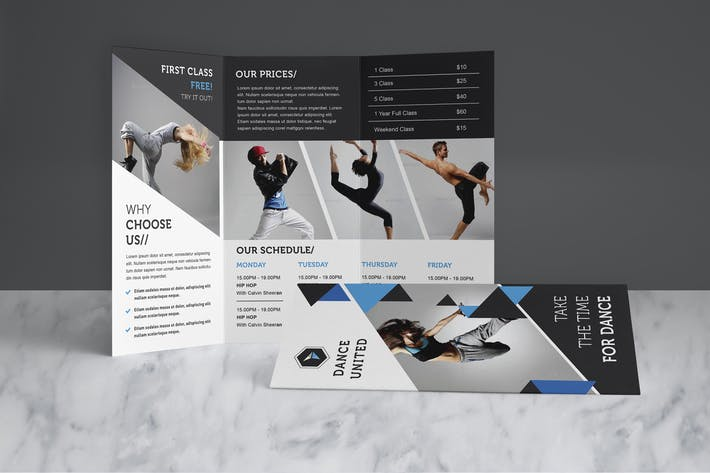 Cover Image For Dance Studio Brochure Pack