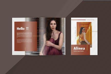 Alinea - Fashion Lookbook Template