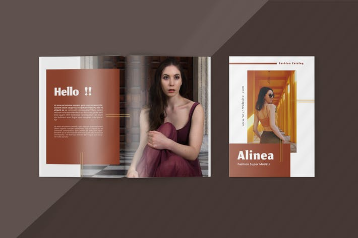 Thumbnail for Alinea - Fashion Lookbook Template
