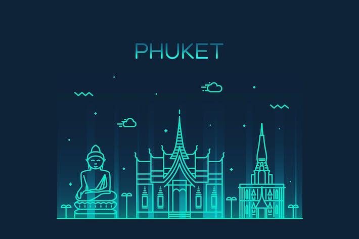 Thumbnail for Phuket skyline, Thailand