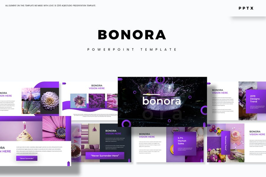 Bonora - Powerpoint Template